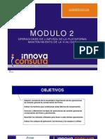 conservación - modulo 2 . Limpieza de plataforma y mantenimiento vialidad