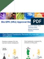 Boeing Biofuel Update