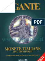 Gigante. Monete Italiane Dal 700 Ad Oggi (12 Edizione)