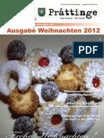 Tuxer Prattinge - Ausgabe Weihnachten 2012