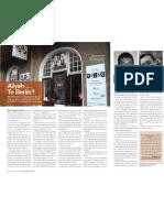 Aliyah Le Berlin-- Jewish Times Story