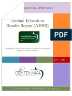Annual Education Results Report 2012