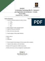 BT0068 Fall Drive Assignment 2012