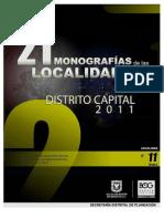 Suba, 21 Monografías de las Localidades. Distrito Capital Bogotá, Colombia. 2011