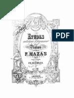 Mazas Etudes Op 36-2