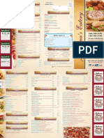 Julliana's Eatery Menu