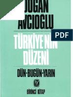 Doğan Avcıoğlu - Türkiyenin Düzeni -  1