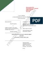 Wolf v Fuddy (HI ICOA) - Opening Brief