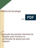 História da sociologia - introdução resumida.ppt
