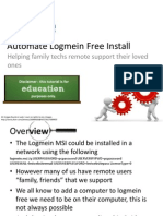 How to Automate Logmein Free
