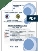 PRACTICA DE LABORATORIO Nº 04 (TERMODINÁMICA)