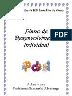 PLANO DE DESENVOLVIMENTO INDIVIDUAL - enviado pelo paixão de educar