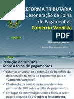 Desoneração da Folha do Comércio Varejista 19_12_2012 - Versão Final