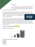 Prova Brasil de matemática D 6 a D 11- GRUPO PAIXÃO DE EDUCAR