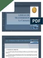LINEAS DE TRANSMISION LA CATENARIA