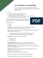 Asepsia Si Antisepsia in Stomatologie