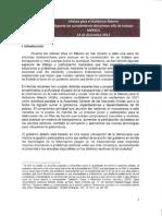 Reporte de Cumplimiento OGP México 2012