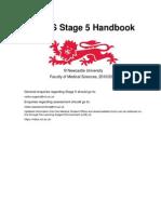 MBBS Stage 5 Handbook