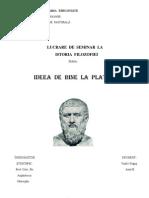 Ideea de Bine la Platon