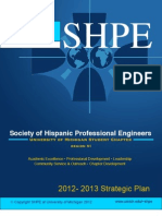 SHPE|UMICH 2012 Strategic Plan