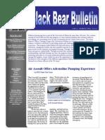 Black Bear Newsletter