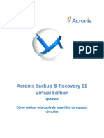 Manual de Acronis ABR 11.5 Virtual Edition