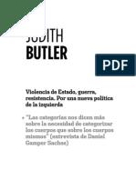 Judith Butler Categorías