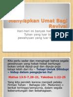 Mempersiapkan Umat Bagi Revival