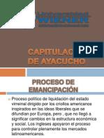CAPITULACION DE AYACUCHO