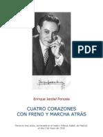 Jardiel Poncela - Cuatro Corazones Con Freno Y Marcha Atras