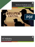 Bullpen VC Outlook 2013