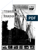 Welding Inspection - Twi