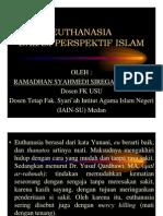 euthanasia dalam prospektif islam