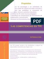Las Competencias Docentes en TIC 1