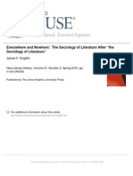 the sociology of literature