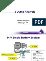 Load Dump Analysis