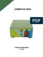 Lista de Veículos Scanner SC-9000 v5.0