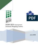 eRep-BOMA BESt Assessment – Enclosed Shopping Centres