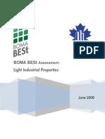 eRep-BOMA BESt Assessment - Light Industrial Properties