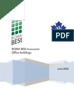 eRep-BOMA BESt Assessment – Office Buildings