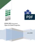 eRep-BOMA BESt Assessment – Open Air Retail Properties