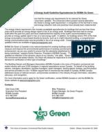 eRep-BOMA Canada Announces Enhanced Energy Audit Requirements