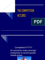 Competion Act 2002