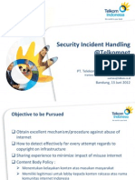 Security Incident Handling @Telkomnet