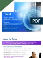 Conquer the Cloud | Part 5 - Designing A Next Generation Cloud Ready WAN