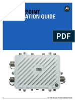 Motorola Solutions AP7161 Access Point Installation Guide (Part No. 72E-165267-01 Rev. B) 16526701b