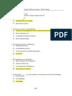 Exam1 Practice Exam Solutions