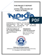 MINOR PROJECT REPORT ON Nokia Mpr(Amit)