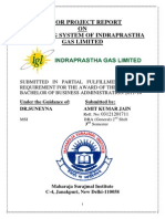 MINOR PROJECT REPORT ON Indraprastha Gas Limited(Pulkit)