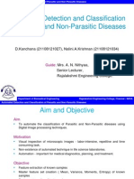 Automated Detection and Classification of Parasitic and Non-Parasitic Diseases